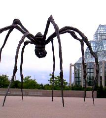 Oeuvre Louise Bourgeois artiste plasticienne PSL